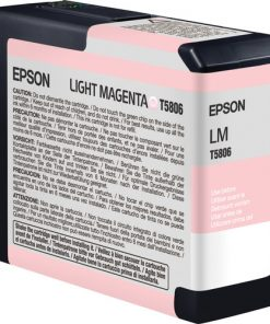 Epson T580600 Light Magenta UltraChrome K3 Ink Cartridge