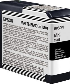 Epson T580800 Matte Black UltraChrome K3 Ink Cartridge