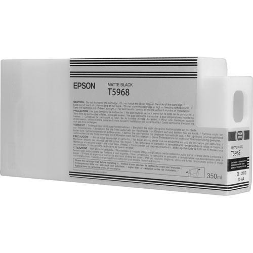 Epson T59668 Matte Black Ultrachrome HDR Ink Cartridge