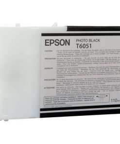 Epson T6051 Photo Black UltraChrome Ink Cartridge