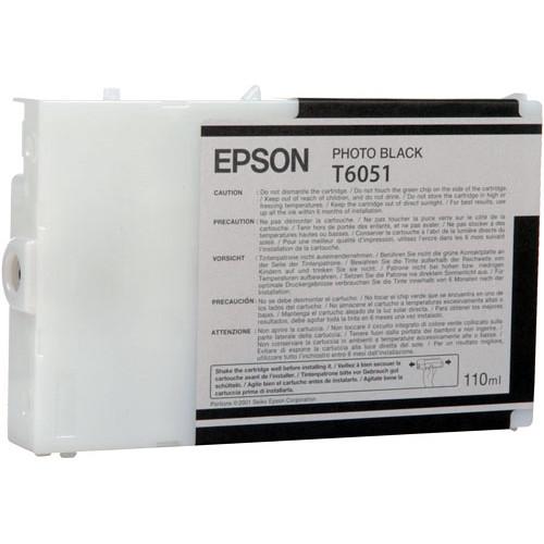 Epson T6051 Photo Black UltraChrome Ink Cartridge
