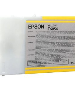 Epson T6054 Yellow UltraChrome Ink Cartridge
