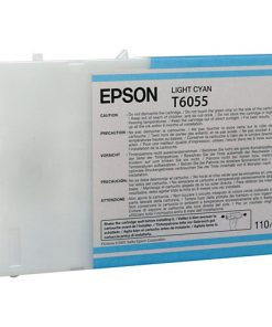 Epson T6055 Light Cyan UltraChrome Ink Cartridge