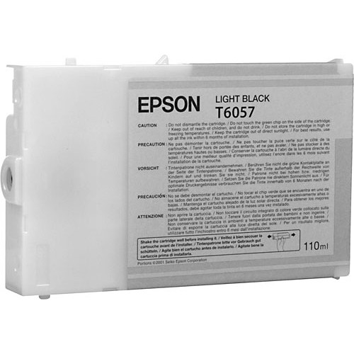 Epson T6057 Light Black UltraChrome Ink Cartridge