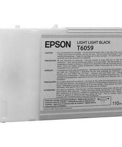 Epson T6059 Light Light Black UltraChrome Ink Cartridge