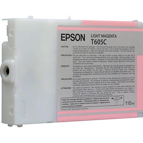 Epson T605C00 Light Magenta UltraChrome Ink Cartridge