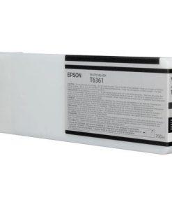 Epson T6361 Photo Black Ultrachrome HDR Ink Cartridge
