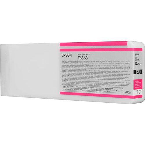 Epson T6363 Vivid Magenta Ultrachrome HDR Ink Cartridge