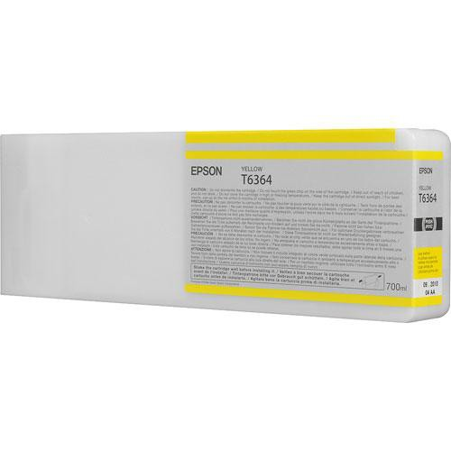 Epson T6364 Yellow Ultrachrome HDR Ink Cartridge
