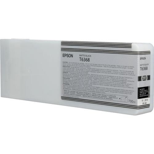 Epson T6368 Matte Black Ultrachrome HDR Ink Cartridge