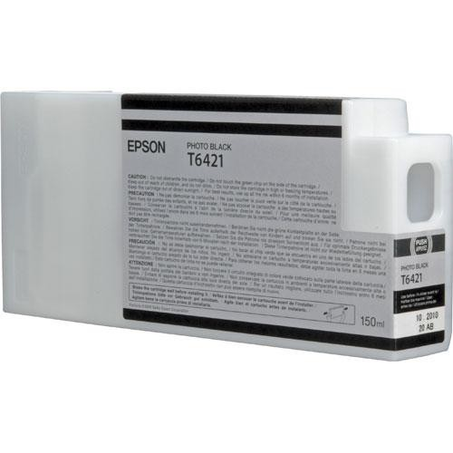 Epson T6421 Photo Black Ultrachrome HDR Ink Cartridge