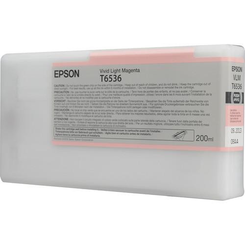 Epson T6536 Vivid Light Magenta Ultrachrome Ink Cartridge