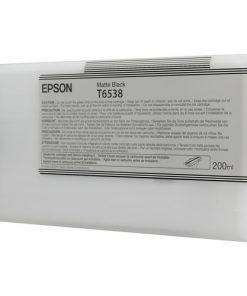 Epson T6538 Matte Black Ultrachrome Ink Cartridge