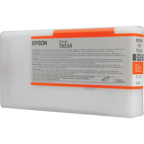 Epson T653A Orange Ultrachrome Ink Cartridge