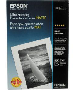 Epson Ultra Premium Presentation Matte Paper 13inx19in S041339