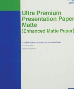 Epson Ultra Premium Presentation Matte Paper 1inx19in 100-sheets S041605