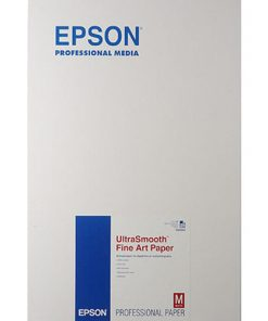"Epson Ultra Smooth Fine Art Paper 325 gsm 13""x19"" S041896"