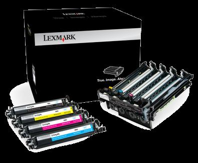 Lexmark 700Z5 Black and Colour Imaging Kit 70C0Z50