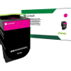Lexmark 701HM Magenta High Yield Return Program Toner 70C1HM0