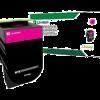 Lexmark 701M Magenta Return Program Toner 70C10M0