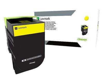 Lexmark 800X4 Yellow Extra High Yield Toner 80C0X40