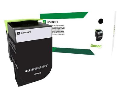 Lexmark 801HK Black High Yield Return Program Toner 80C1HK0