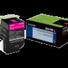 Lexmark 801XM Magenta Extra High Yield Return Program Toner 80C1XM0
