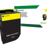 Lexmark 801XY Yellow Extra High Yield Return Program Toner 80C1XY0