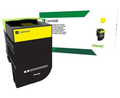 Lexmark 801Y Yellow Return Program Toner 80C10Y0