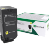 Lexmark CS720 CS725 CX725 Yellow STD Yield Return Program Toner 74C1SY0