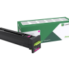 Lexmark CS820 CX82x CX860 Magenta Return Program Toner 72K10M0