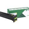 Lexmark CS820 CX82x CX860 Yellow Return Program Toner 72K10Y0