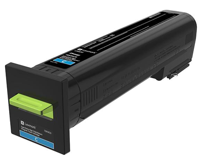 Lexmark Cyan Extra High Yield Return Program Toner 72K1XC0