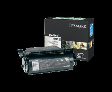 Lexmark T/X620 High Yield Return Program Toner 12A6865