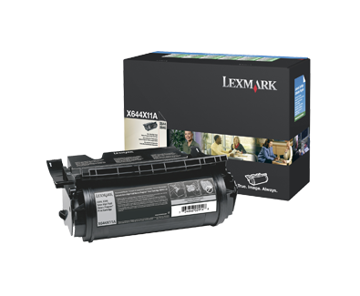 Lexmark X64X Series Extra High Yield Return Program Toner X644X11A