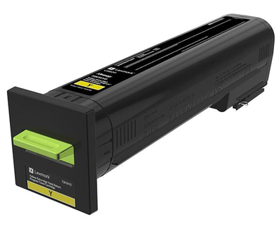 Lexmark Yellow Extra High Yield Return Program Toner 72K1XY0