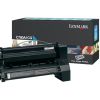 Lexmark C780 Cyan Return Program Toner C780A1CG