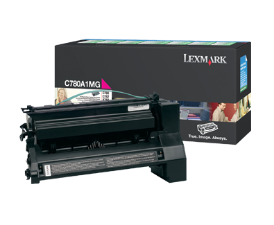 Lexmark C780 Magenta Return Program Toner C780A1MG