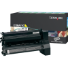 Lexmark C780 Yellow Return Program Toner C780A1YG