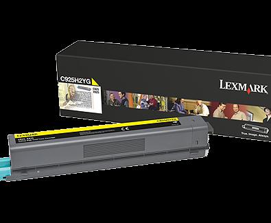 Lexmark C925 Yellow High Yield Toner C925H2YG