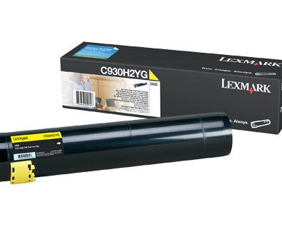 Lexmark C935 Yellow High Yield Toner C930H2YG