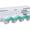 Lexmark Saddle Staple Cartridges 4-pack 21Z0357