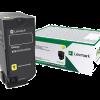 Lexmark CS72x Yellow High Yield Return Program Toner 74C1HY0