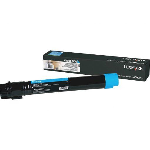 Lexmark X950X2CG Cyan Extra High Yield Toner