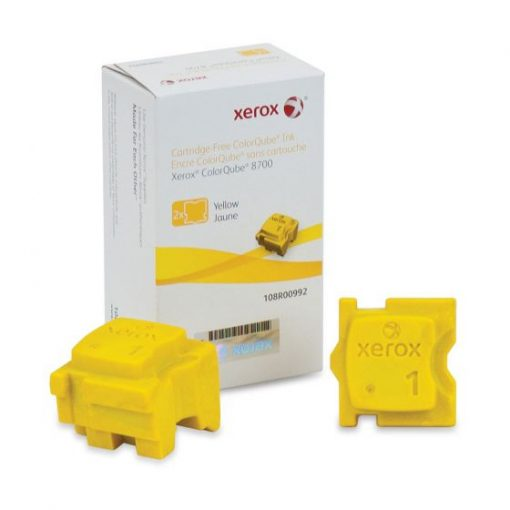 Xerox ColorQube 8700 Yellow Solid Ink Pack 108R00992