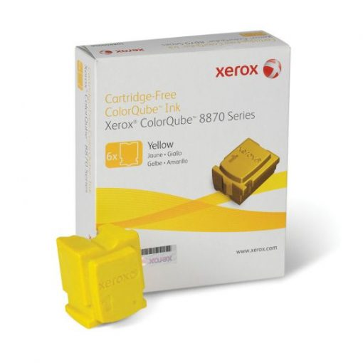 Xerox ColorQube 8870 8880 Yellow Solid Ink Pack 108R00952
