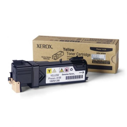 Xerox Phaser 6130 Yellow Toner 106R01280