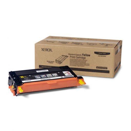 Xerox Phaser 6180 6180MFP Standard Capacity Yellow Toner 113R00721