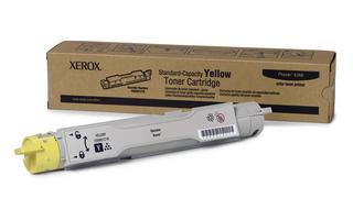 Xerox Phaser 6360 Standard Capacity Yellow Toner 106R01216