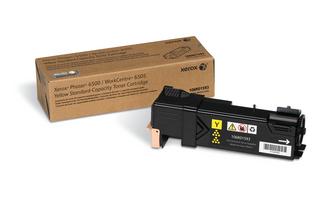 Xerox Phaser-6500 WC-6505 Standard Capacity Yellow Toner 106R01593